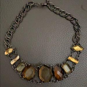 Jewelry - Autumn colored stone Choker